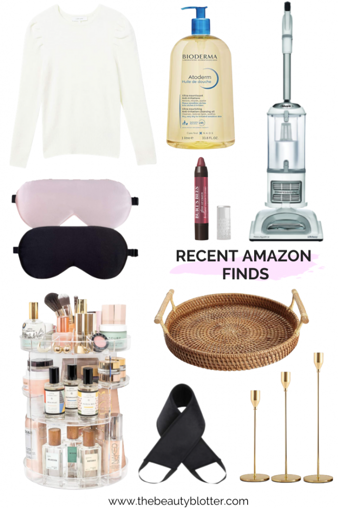 AMAZING AMAZON FINDS TO MAKE YOUR LIFE EASIER & PRETTIER | Sharing some recent Amazon purchases on the blog today.
