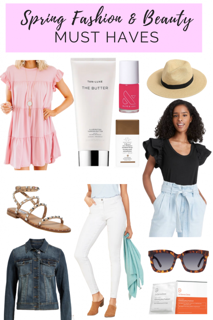 SPRING FASHION & BEAUTY LOVE LIST | I am sharing my favorite spring fashion and & beauty staples on the blog today