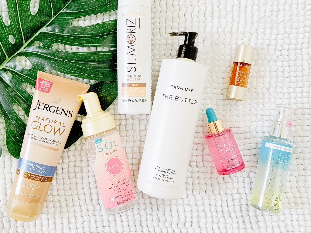 THE BEST SELF TANNERS AND HOW TO APPLY THEM | I am sharing my best tips and tricks for an even self tanner application, including the hard to reach areas.