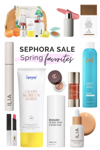 MY FAVORITE SPRING BEAUTY PRODUCTS FROM THE SEPHORA SALE | I am sharing my favorite spring beauty picks from the sephora sale, including some tried and true favorites and some new products to try.