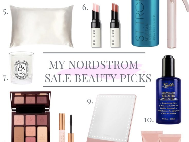 MY TOP 12 NORDSTROM SALE BEAUTY PICKS FOR 2021